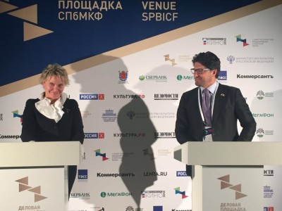 A San Pietroburgo il Forum Internazionale della Cultura